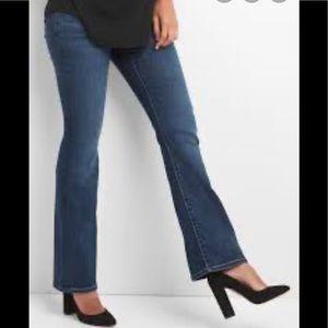 Gap Maternity Modern Boot Jeans